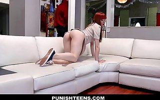 PunishTeens - Hot Teen Fucked By Masters Horseshit
