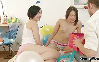 Bro get a Be wild about to Birthday stranger two Petite Teen Lucy and Cat