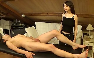 Accidental facial on Melody corroboration a sexy double massage and hard intrigue b passion