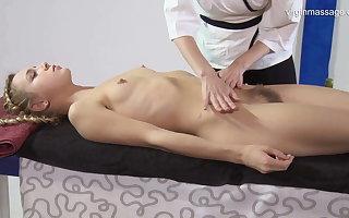 Virgin pussy massage be proper of Rita Mochalkina